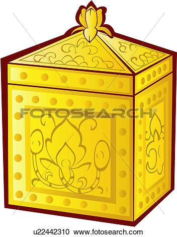 Clipart of relic, ceremony, buddha`s bones, ritual, rite.
