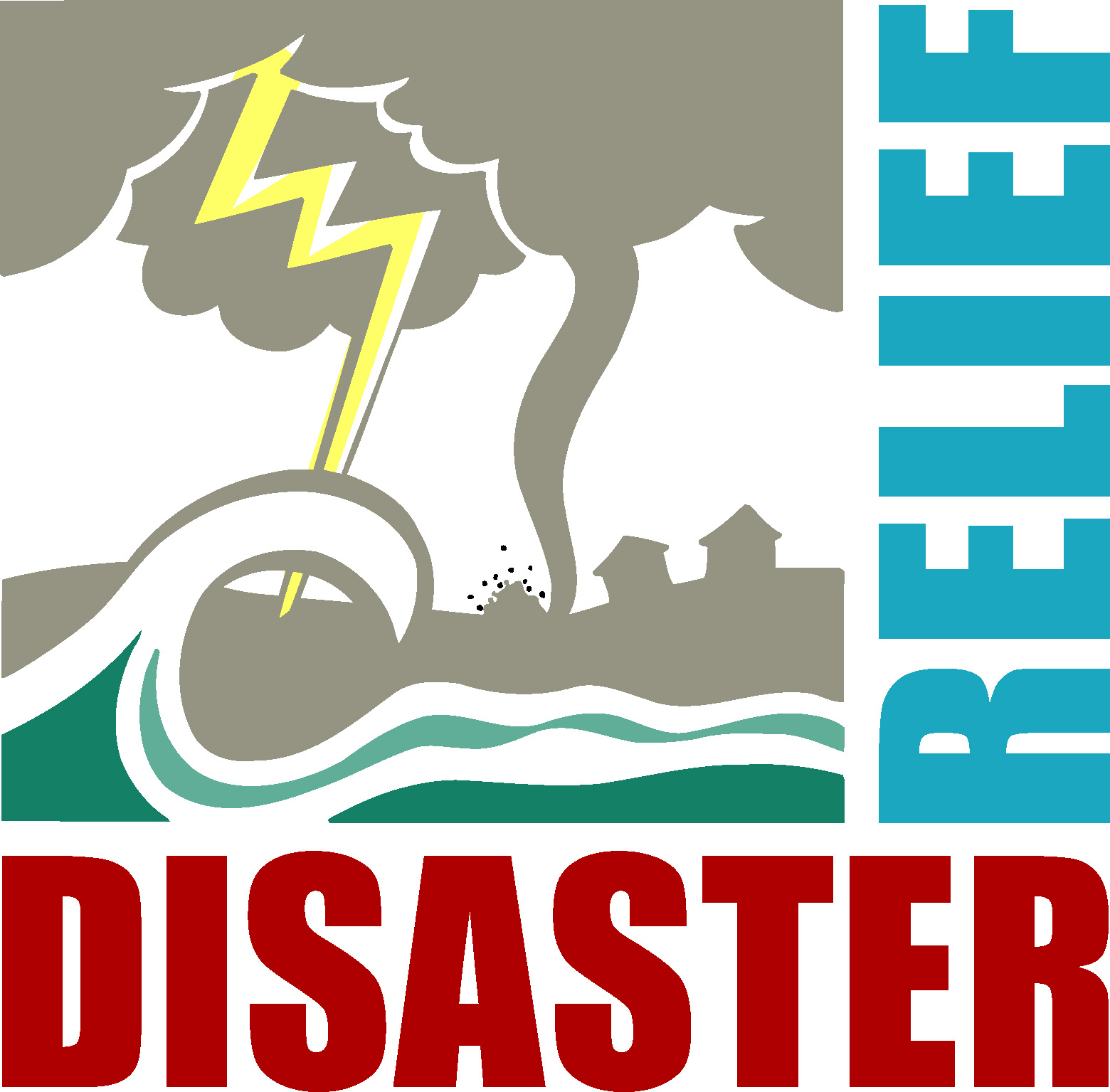 Disaster relief clipart.