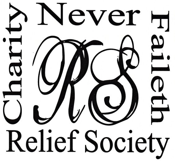 relief society cute clipart #8