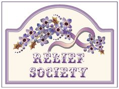 relief society cute clipart #14