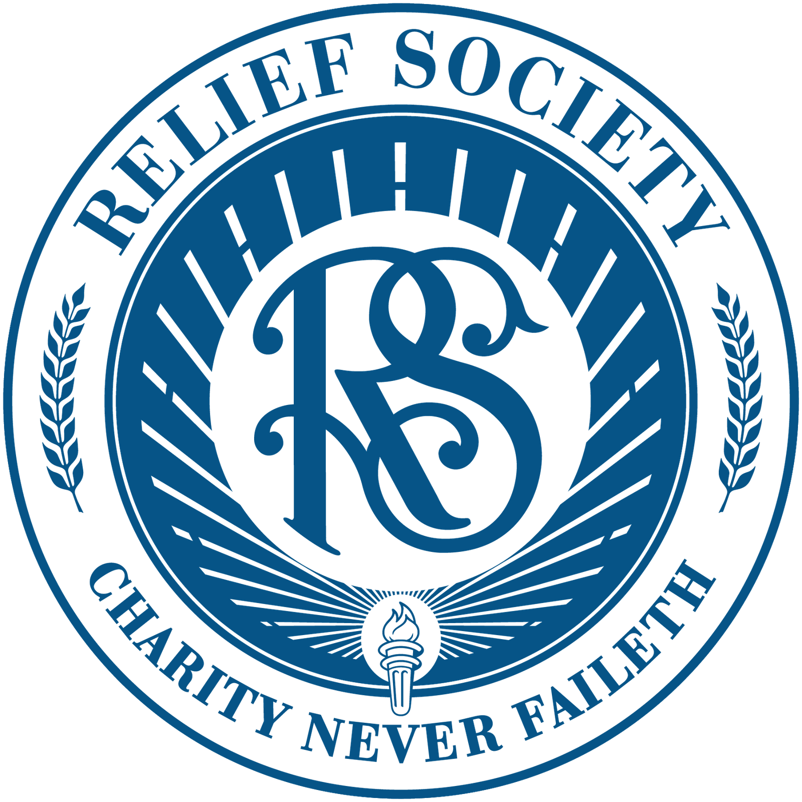 dw decorative: LDS Relief Society Logo.