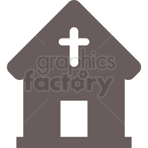 religious building icon clipart. Royalty.