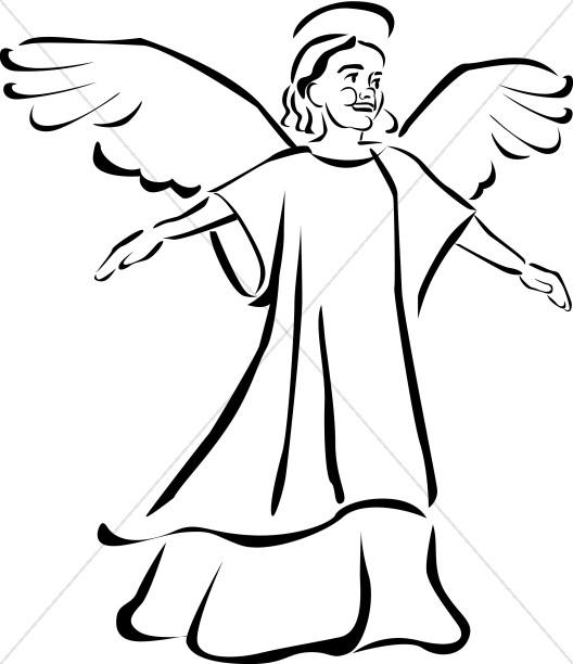 Child Angel Clipart.