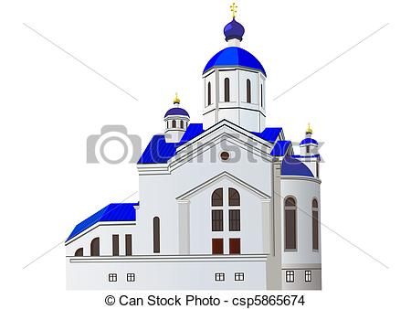 EPS Vector of Church.