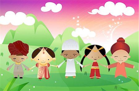 Religious clip art Stock Photos.