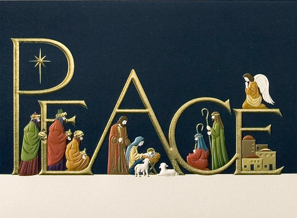 Religious Photo Christmas Cards.