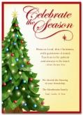 Religious christmas cards clipart.