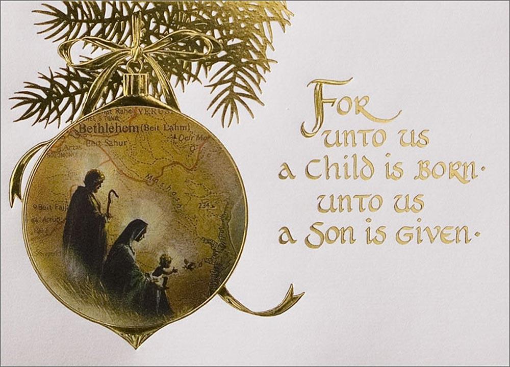 Christian Christmas Cards.