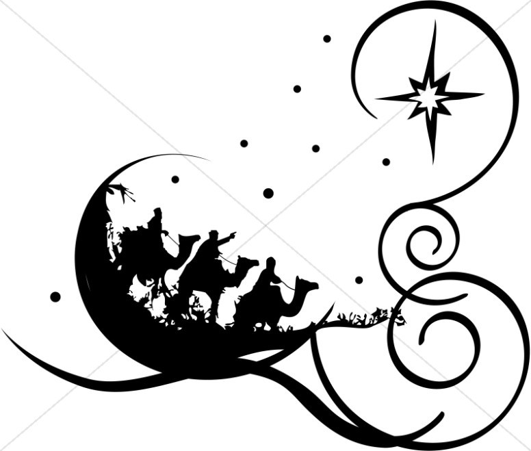 Religious christmas clipart black and white 3 » Clipart Portal.