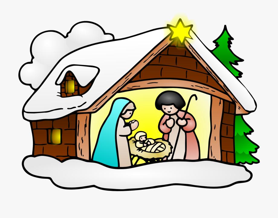Christmas Religious Clip Art.