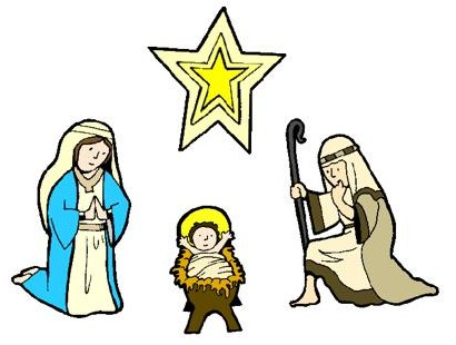 Religious Advent Clipart.