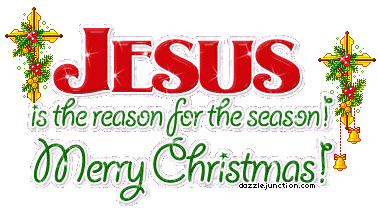 Bells With Jesus Is The Reason For The Season Merry.