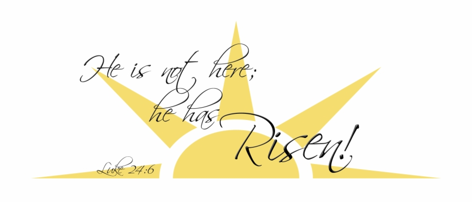 Easter Sunrise Clipart.