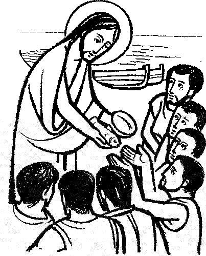 religious clipart fifth sunday of easter #6