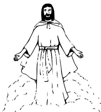 Jesus christmas clip art religious clipart clipartcow.