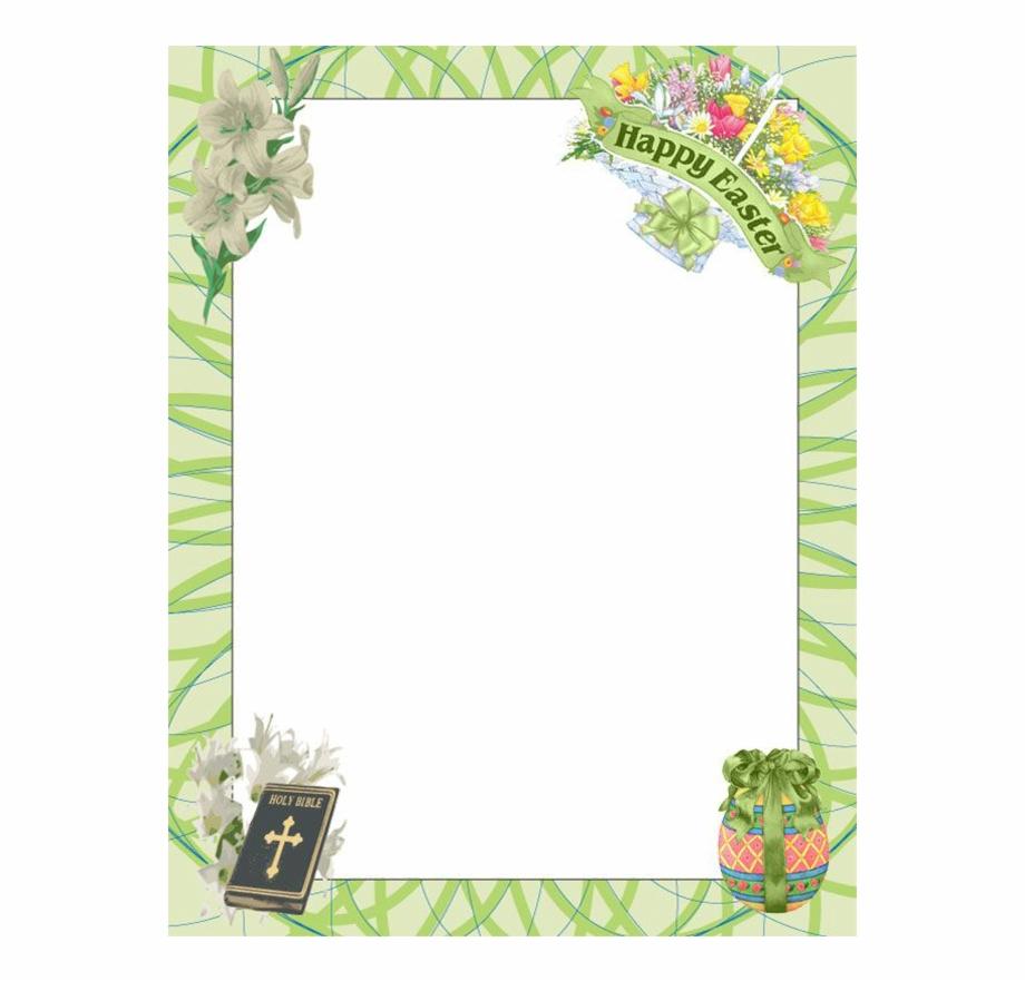 Easter Border Clipart.