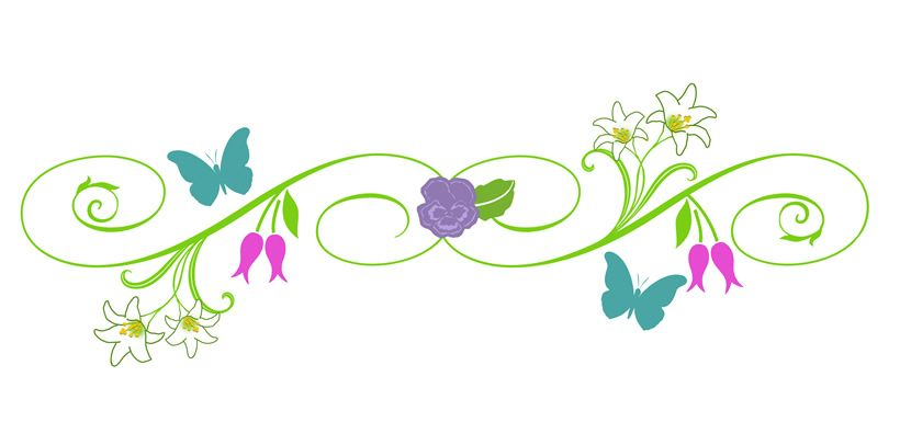 9 Best Images of Spring Clip Art Borders.