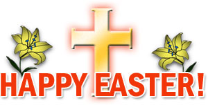 Happy Easter Clipart Religious.