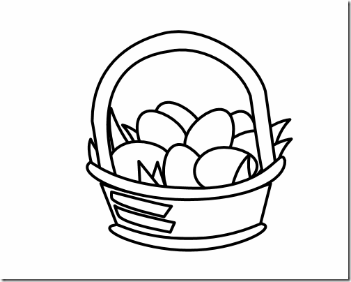 religious easter clipart blac #2