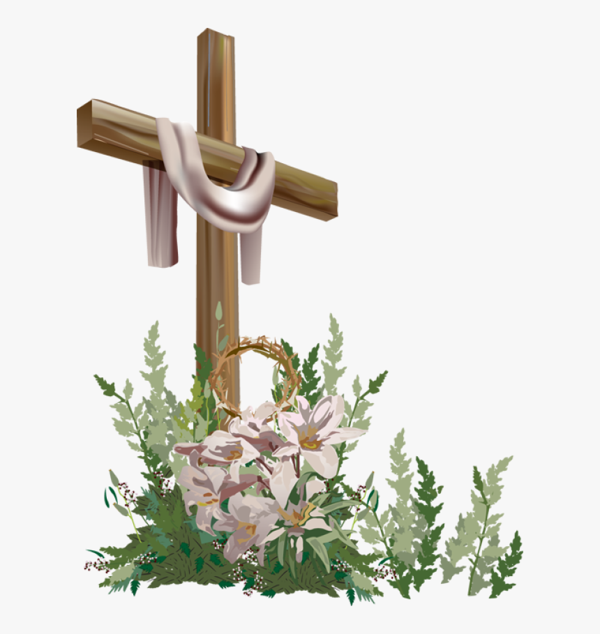 Free Easter Cross Clipart.