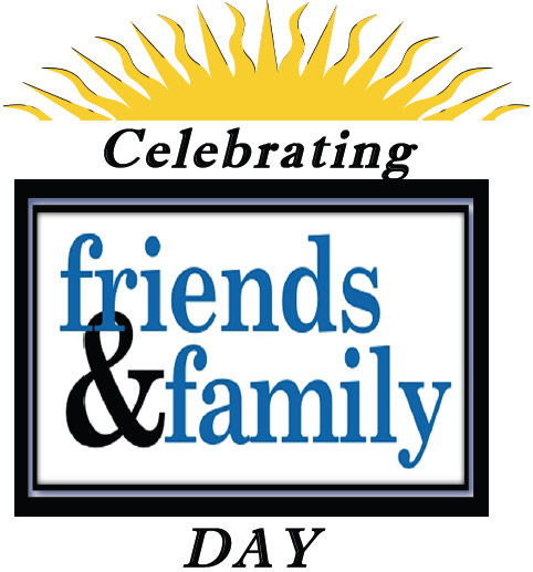 Religious Family And Friends Clipart.