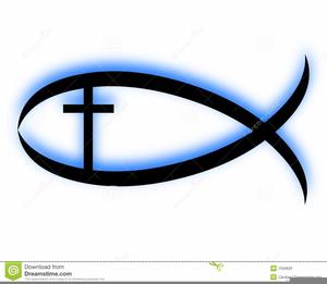 Religious Fish Symbol Clipart.