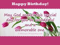 Religious Happy Birthday Quotes Pictures, Photos, Images.