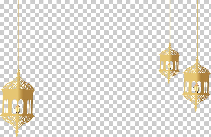 Yellow Lighting Pattern, Golden religious holiday lamp.