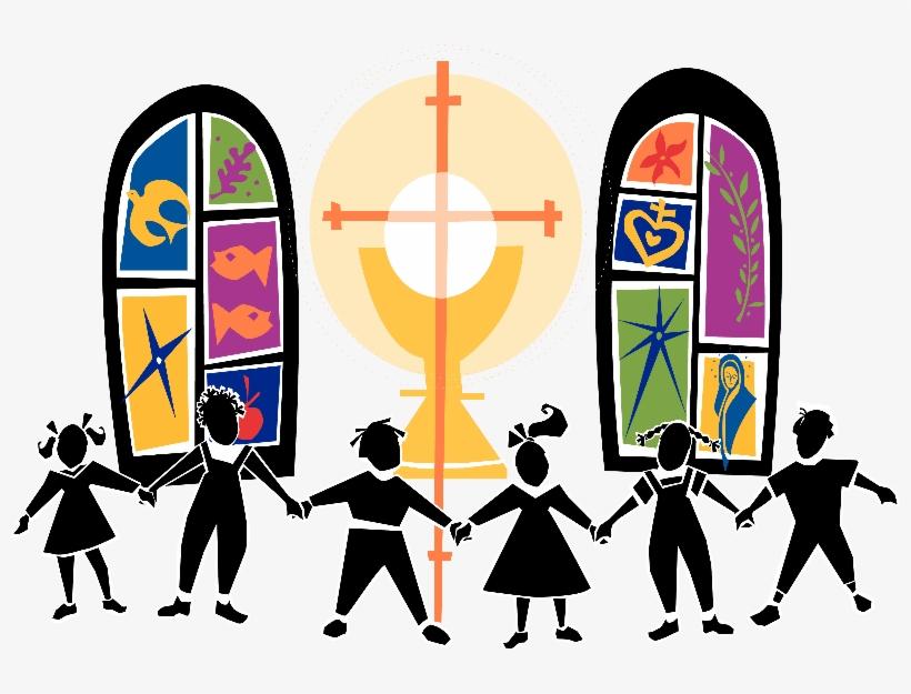 Church Kids Clipart.