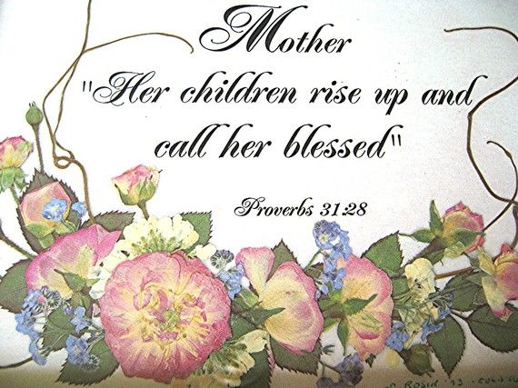 Christian Art Christian Gift Mother Scripture by.