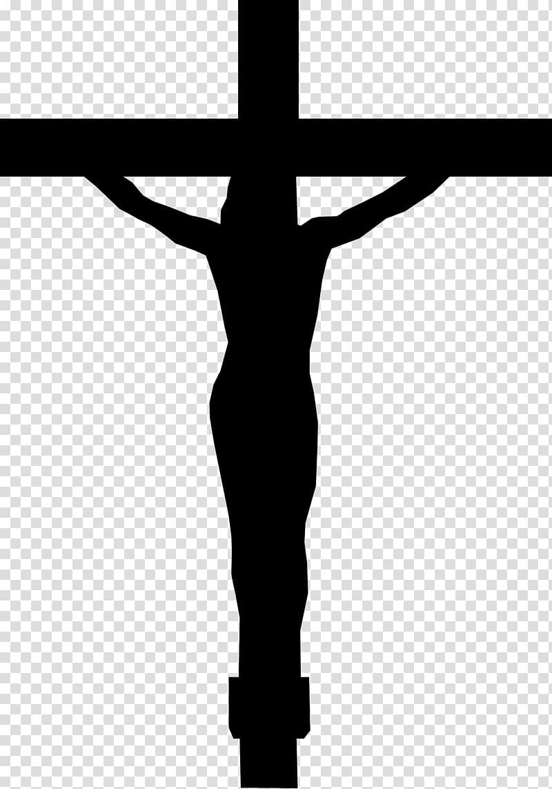 Christian cross Silhouette Drawing , cross transparent.