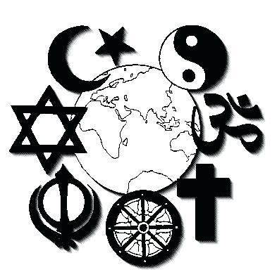 Religion Symbols Clipart.