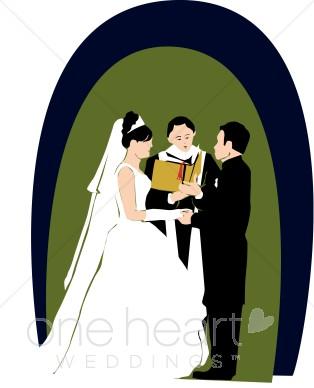 Religious Wedding Clipart.