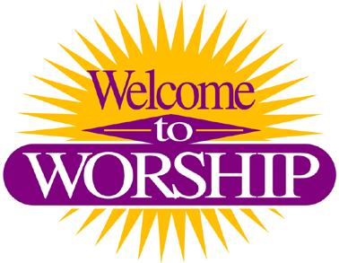 Christian Welcome Clipart.