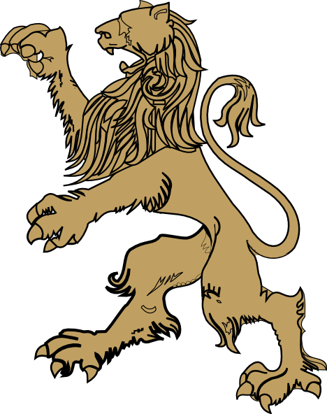 Lion Relic Clip Art at Clker.com.