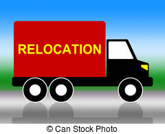 Relocation truck Illustrations and Stock Art. 415 Relocation truck.