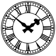 Znalezione obrazy dla zapytania vintage clock clipart.