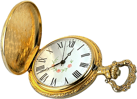 Reloj Antiguo Png Vector, Clipart, PSD.