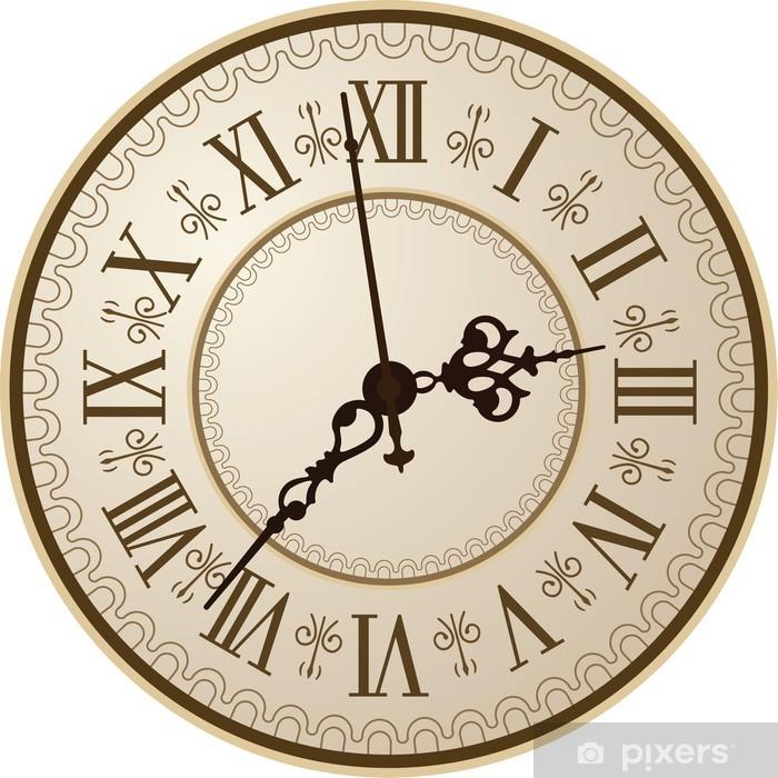 Vinilo Reloj antiguo Pixerstick.