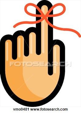 Clip Art Reminder Finger Clipart.