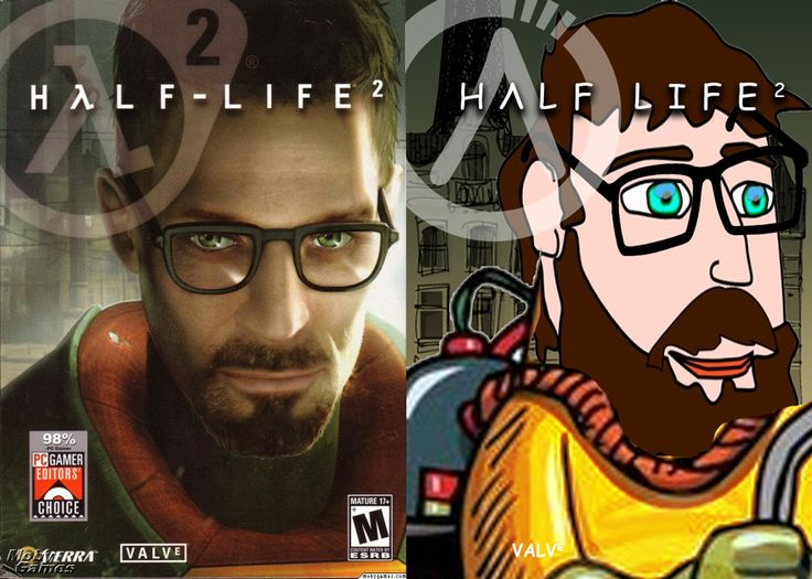 Video Game Covers Remade in Clip Art & Comic Sans.