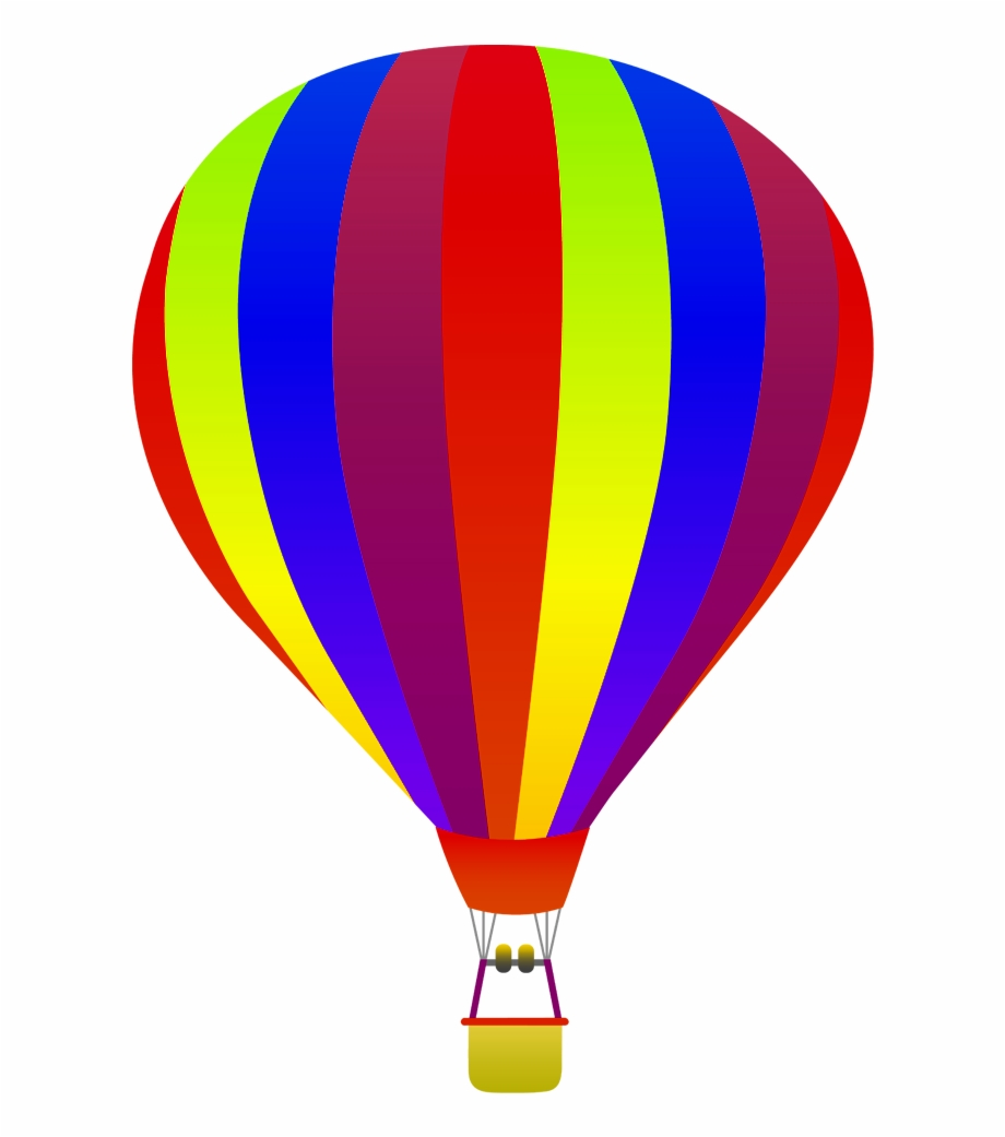 Hot Air Balloon Transparent Transparent Background.