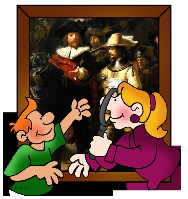 Free Art Clip Art by Phillip Martin, Rembrandt.