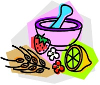 Home remedies clipart.