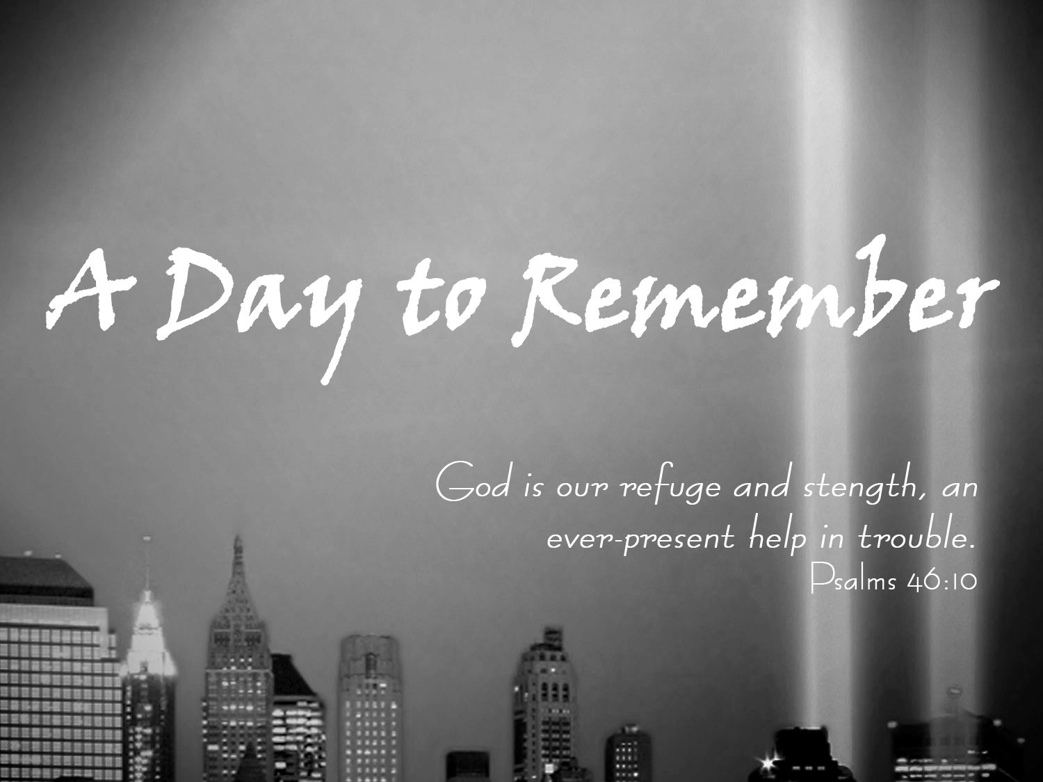 remembering 9/11 clip art.