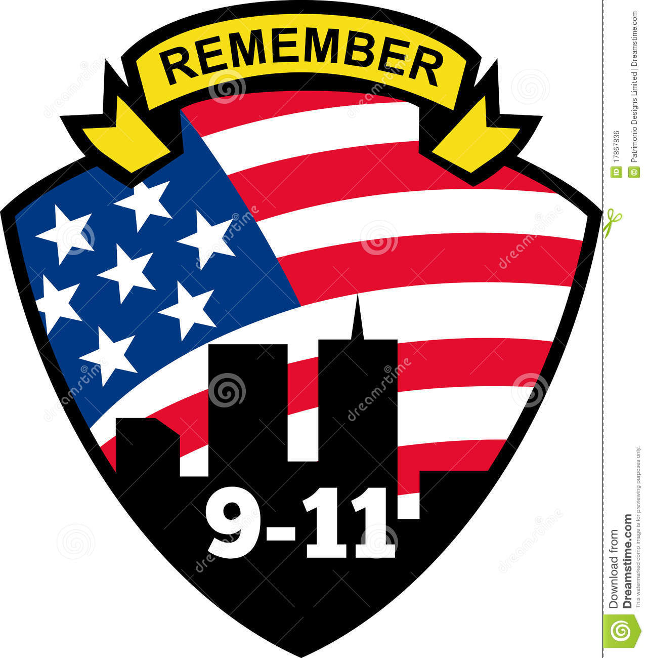 Remember 911 Clipart.