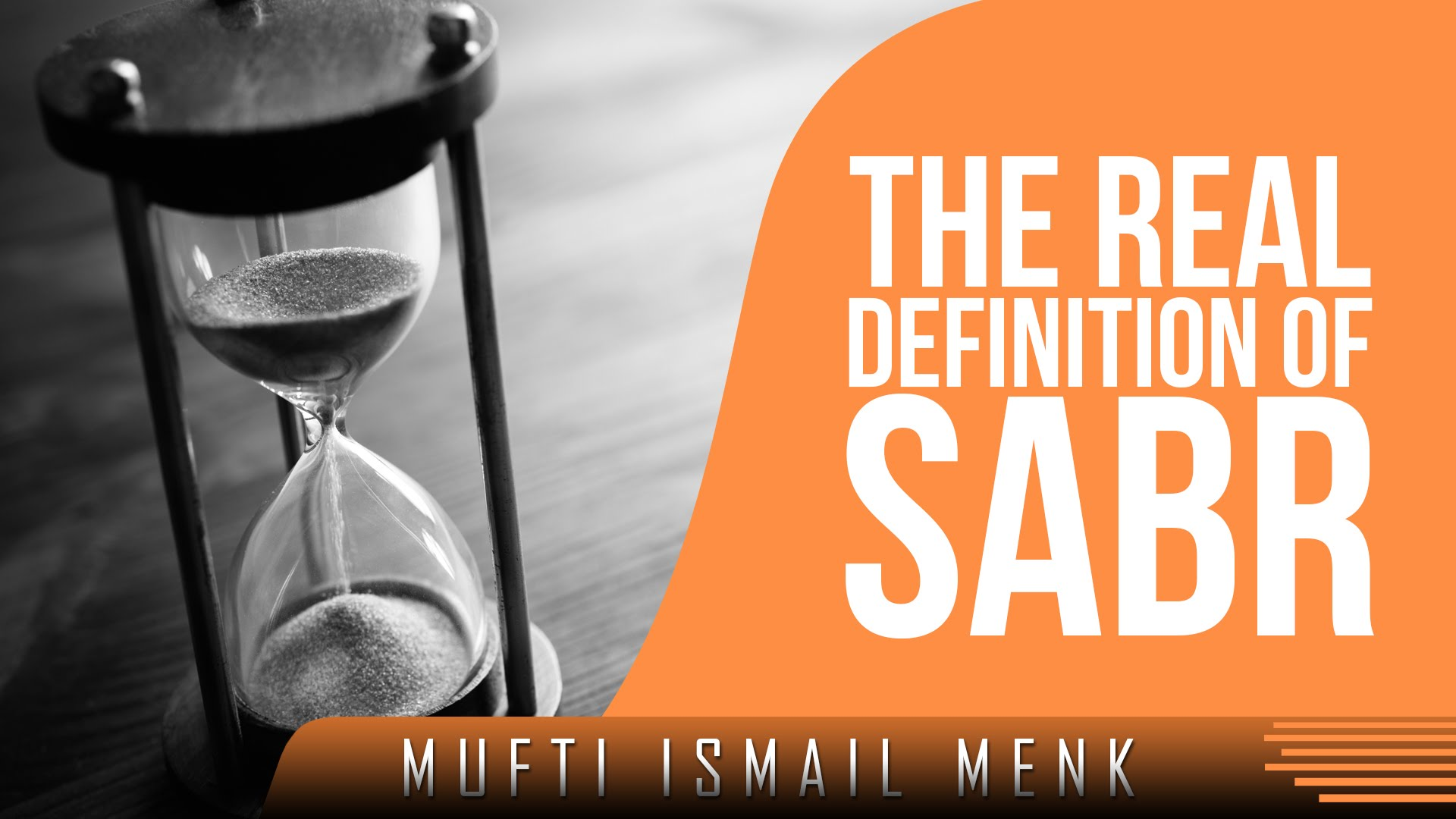 The Real Definition Of Sabr ᴴᴰ ┇ Amazing Reminder ┇ by Mufti.