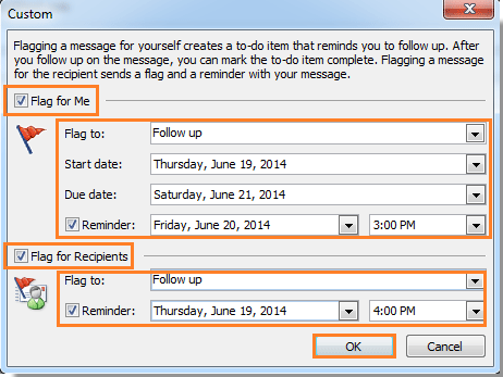 How to send an email message with reminder in Outlook?.