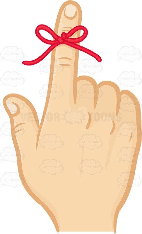 Reminder finger clipart 3 » Clipart Station.