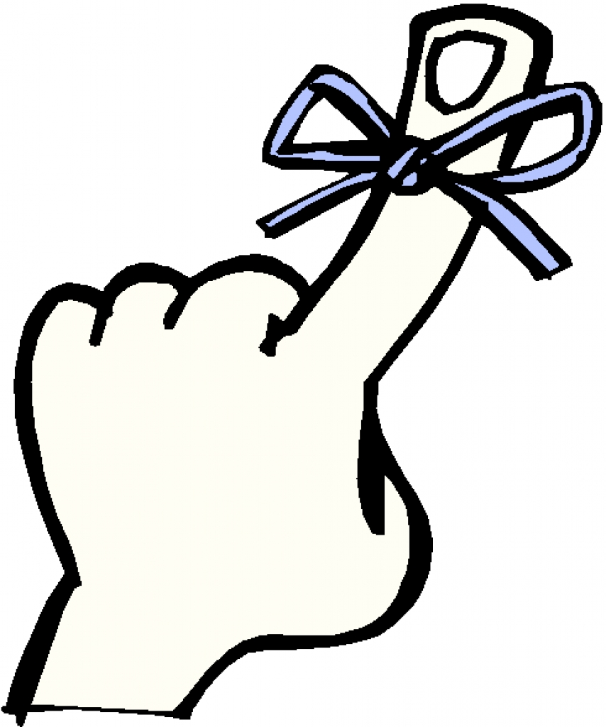 Clipart remember finger clipart remember finger finger with.